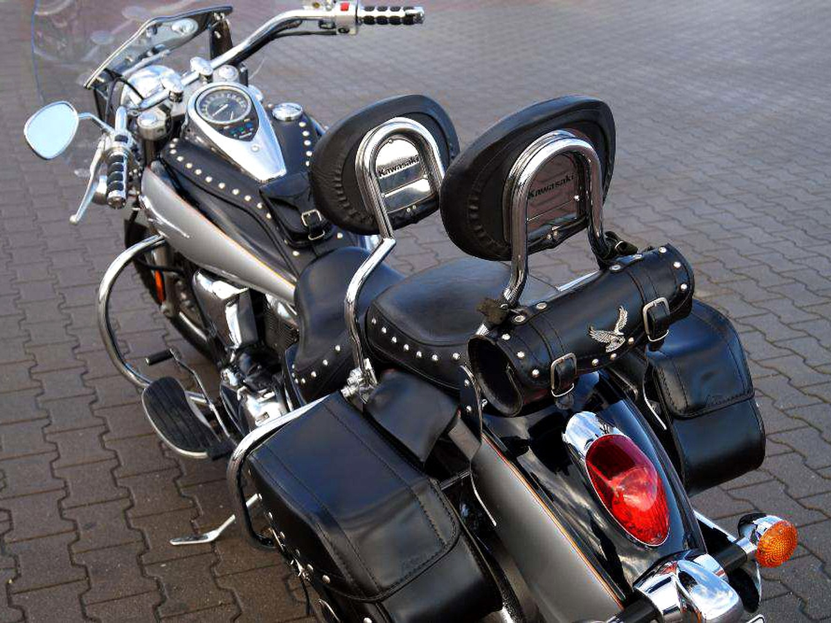 kawasaki vulcan vn 900 custom classic highway rear crash. Black Bedroom Furniture Sets. Home Design Ideas
